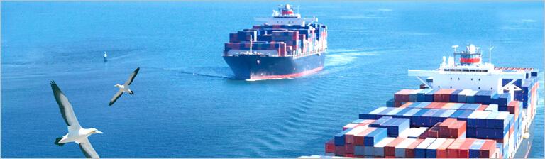 国际海运货物物流的发货方式