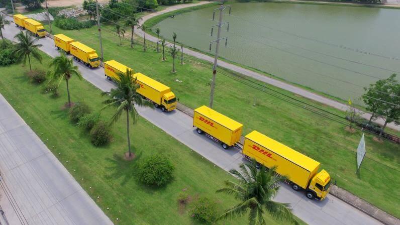DHL公路货运